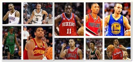 Los 10 mejores bases de la NBA 2012-2013 | Baloncesto11 | Scoop.it
