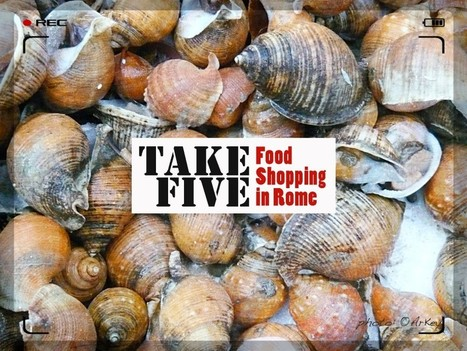 Take Five :: Rome, The New Esquilino Market - Seafood Stalls | @FoodMeditations Time | Scoop.it