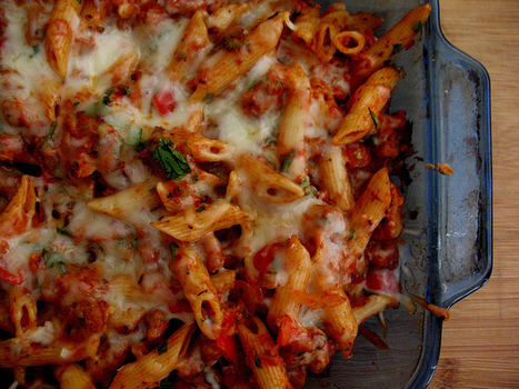 Italian Sausage Baked Pasta Recipe | doctor who+food | Scoop.it
