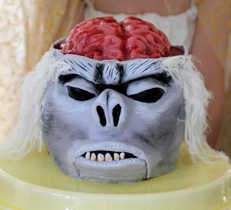 DIY Indiana Jones Monkey Brain Cake | All Geeks | Scoop.it