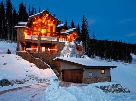 Wordless Wednesday | $3,695,000 Sun Peaks Chalet | Luxury Real Estate Canada | Scoop.it
