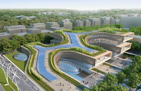 Les nouvelles propositions spectaculaires de Vincent Callebaut, pour la Cité des Sciences de Rome | La Ville , demain ? | Scoop.it
