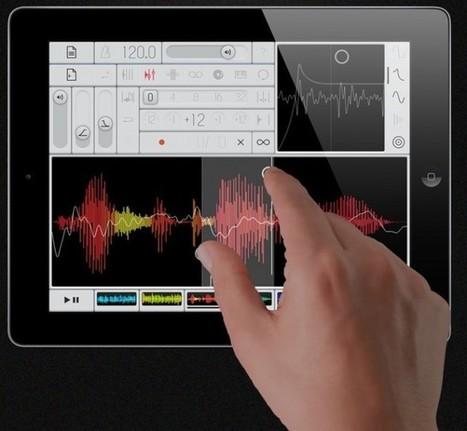 Samplr is an OP-1-Inspired iPad App Focused on Touching, Slicing Waveforms | iPad Music | Scoop.it