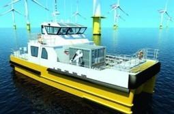 Entreprises : Un navire du futur pour l'éolien offshore | EMR | Scoop.it