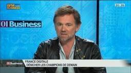 France Digitale: comment dénicher les champions de demain ?: Olivier Mathiot et Jean Bourcereau, dans 01Business - 21/06 3/4 | French Tech | Scoop.it