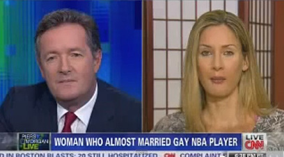 Piers Morgan Interviews Jason Collins' Ex-Girlfriend, Asks if He Apologized to Her | Gay News | Scoop.it