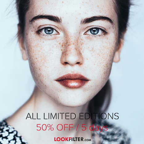Last Chance 50% OFF / 5 Days on all Limited Presets | Photography News Journal | Scoop.it