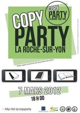 Première Copy Party le 7 mars à La Roche-Sur-Yon ! - Framablog | bibliothèque 2.0 | Scoop.it