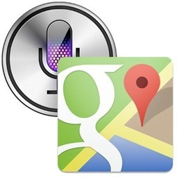 Use Google Maps To Find Directions Using Siri Without Jailbreaking [Updates] | Son of Siri | Scoop.it