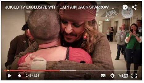 Weekly Heart Opener: Captain Jack Visits Sick Children and Orphaned Bats | Eileen Anglin | Compassion in Action | Scoop.it