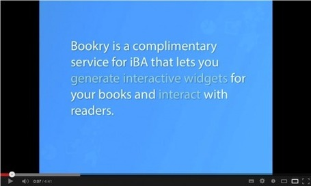 Showcase and share your iBooks with Bookry. | ipadders.eu | Apps_for_education | Scoop.it