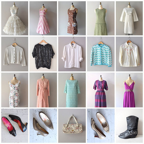 dear golden | vintage: new ✩ SALE SECTION ✩ in the shop | Vintage Fashionista | Scoop.it