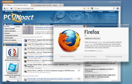Firefox 4.0 disponible en version finale : toutes les nouveautés - PC INpact | Toulouse networks | Scoop.it