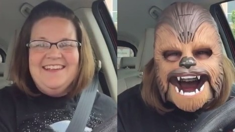 Mum in Chewbacca mask shatters Facebook Live record | Technoculture | Scoop.it