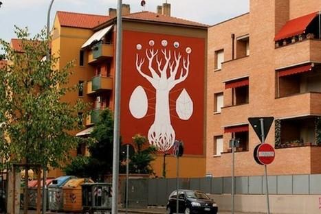 Artista pinta grafite que absorve a poluição do ar - INFO | ivana | Scoop.it