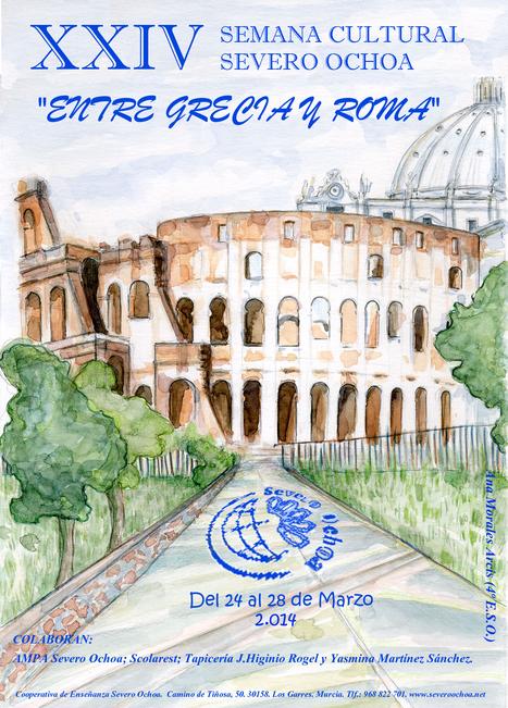 "XXIV Semana Cultural Severo Ochoa: ""Entre Grecia y Roma"" | EURICLEA | Scoop.it"