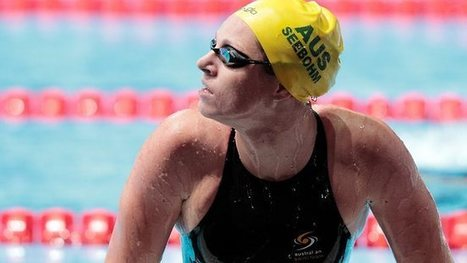 Emily Seebohm reacts after the her 100m backstroke heat at the FINA World ... - Herald Sun | My favorites | Scoop.it