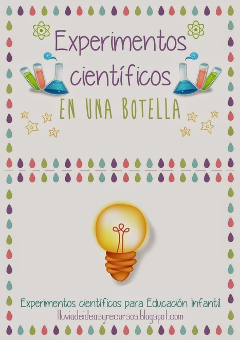 Descargables: Experimentos científicos en una botella para Educación Infantil | Ciencia reCreativa | Scoop.it