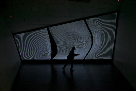 Create Undulating Waves Of Light And Sound Using Your Body | The Creators Project | Sound & Gesture | Scoop.it