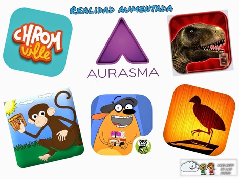 6 apps para empezar a usar la realidad aumentada en el aula. | apps educativas android | Scoop.it