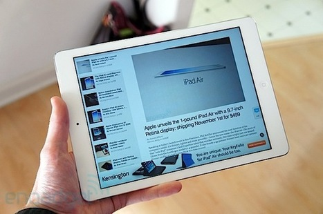 iPad Air review - Engadget | Technology | Scoop.it