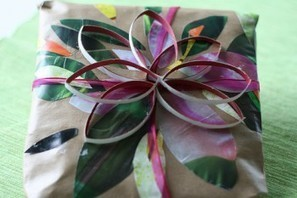 Making Eco-Friendly Wrapping Paper and Gift Bows | Home & Hearth | Scoop.it