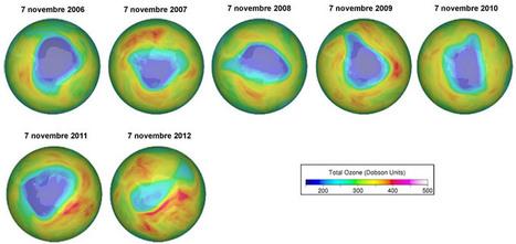 Le trou dans la couche d'ozone en 2012 a diminué plus vite que les années précédentes | Chuchoteuse d'Alternatives | Scoop.it
