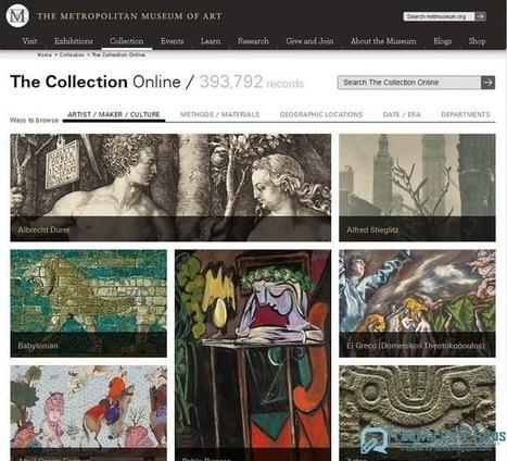 Le site du jour : Les archives (400 000 images) du Metropolitan Museum of Art accessibles en ligne | Mes Scoop it! | Scoop.it