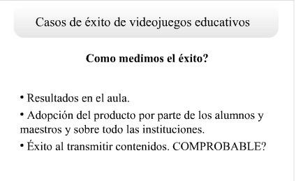 Más de Simposio Internacional de Edutainment - Videojuegos | Maestr@s y redes de aprendizajes | Scoop.it