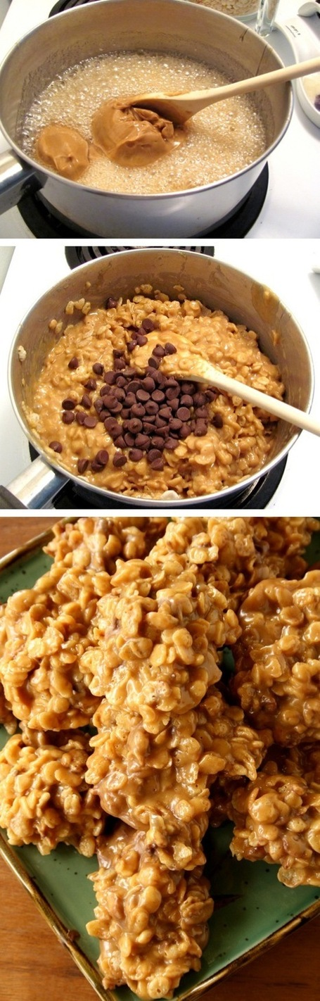 Stove Top Peanut Butter Cereal Cookies | Candy Buffet Weddings, Events, Food Station Buffets and Tea Parties | Scoop.it