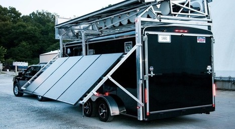 Portable energy mill provides both wind and solar power at disaster sites | Investing in Renewable Energy | Scoop.it