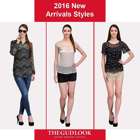 Spring# Summer# 2016# New# Styles Click to checkout<>http://thegudlook.com/30-casual-tops | Street Fashion is what thegudlook.com promises to bring to you Online every day week after week. | Scoop.it