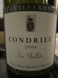 Had a Glass: 2006 Domaine Yves Cuilleron Condrieu Les Chaillets « WINEcouver | oenologie en pays viennois | Scoop.it