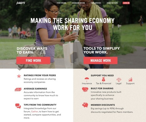 Peers relaunch: making the sharing economy work for the people who power it - Collaborative Consumption   Peer2Politics   Scoop.it