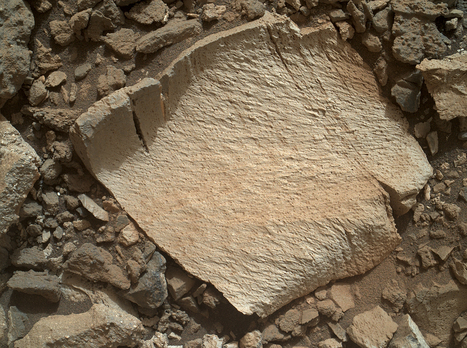 NASA: Intrigued scientists take a second look at strange looking rock found by MarsCuriosity   Amazing Science   Scoop.it