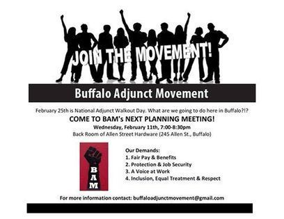 Right on, Buffalo! BAM! #NAWD planning Facebook Event | A is for Adjunct | Scoop.it