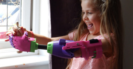 Watch A Girl Named Isabella Unpack A New 3-D PrintedArm | Managing Technology and Talent for Learning & Innovation | Scoop.it