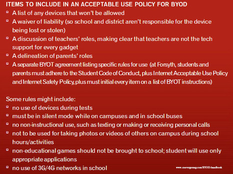 A Teacher's BYOT Handbook: 10 Checklists For Creating Your Plan | Jogos e mLearning | Scoop.it