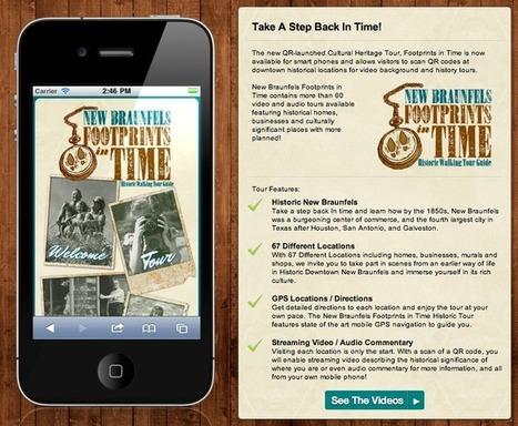 QR Footprints in Time « techchef4u | Serious Play | Scoop.it