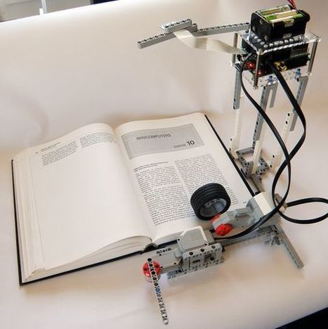 Lego Bookreader: Digitize Books With Mindstorms and Raspberry Pi - Techy Trends | Raspberry Pi | Scoop.it