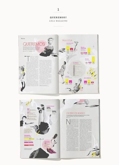 30 Stylish Examples of Layouts in Magazine Design | Journalism & Media | Scoop.it