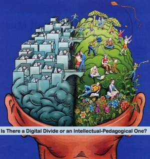 Is There a Digital Divide or an Intellectual-Pedagogical One? | TELT | Scoop.it