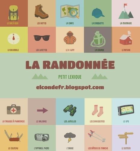 La randonnée | FLE : méthodologie et ressources | Scoop.it