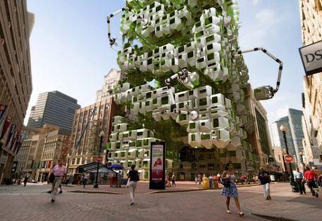 Eco-Pods Produce Bio-Fuel Energy - eVolo   Architecture Magazine   Aspects 2 & 3   Scoop.it