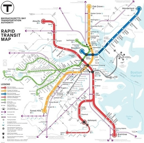 Map Battle of the Day: Pick Boston's Best Subway Map Redesign | StylingM@p | Scoop.it
