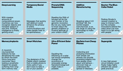 MIT: 10 Breakthrough Technologies 2013 you should know about | Management and Economy | Scoop.it