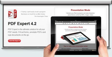 PDF Expert 4.2 | Digital Presentations in Education | Scoop.it