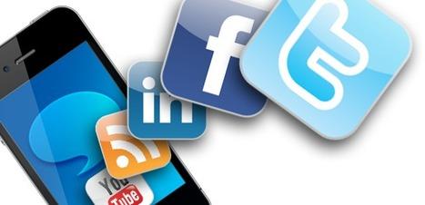 Mobile et réseaux sociaux, portes d'entrée désormais de l'info | Environnement Digital | Scoop.it