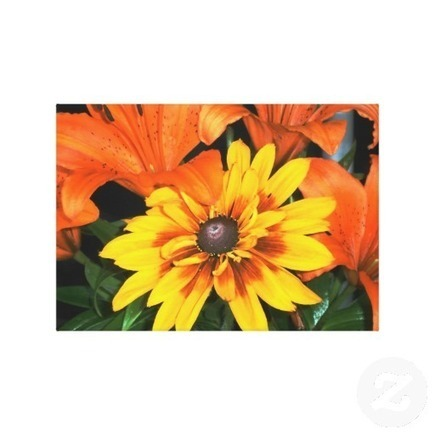 Blanket Among the Lilies Wrapped Canvas from Zazzle.com | Wall Art | Scoop.it