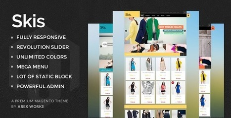 AM Skis New Multipurpose Magento Theme - Download New Themes | Sports & Entertainment | Scoop.it
